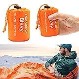 LATTCURE Notfall Überleben Schlafsack,Survival Biwaksack Erste Hilfe Rettungsdecken Wasserdicht...