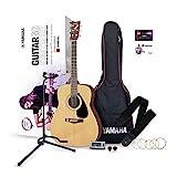 YAMAHA GuitarGo - Starter Set – Akustikgitarren-Set für Anfänger und Wiedereinsteiger –...