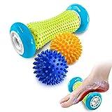 Fußmassage Igelball roller massageball für Plantarfasziitis - Muskel Roller & Fußmassage Balls -...