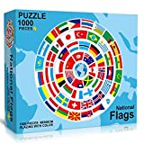 CYC Puzzle 1000 Teile,Puzzle Für Erwachsene,National Flag Puzzle Farbenfrohes...