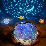 Stern-Nachtlichter for Kinder Universum Cosmos Sternenhimmel-Licht-LED-Projektor Rotating Lampe...