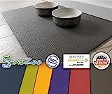 Sanosoft SanoZoo Napfunterlage - Öko TEX - Made in Germany 40 x 60 cm Grau
