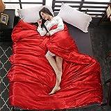 KIHUGL Natural Silk Comforter 4 Season Mulberry Bettbezug Luxus Seidendecke Bettwäsche Quilt King...