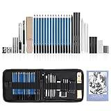 GHB 36pcs Bleistifte Skizzierstifte Set Skizzieren und Zeichnen Professionelle Art Set mit...