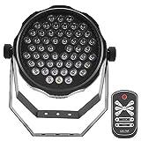Zoternen LED Effektstrahler, 54 STK 4 farbige Disco Bühnenlicht, DMX, Auto, Voice Steuermodus,...