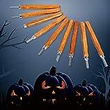Halloween Kürbis Schnitzwerkzeug, ideal für Anfänger, Carving Sculpt Jack-O-Lantern – 12 Stück...