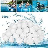 GothicBride Filter Balls 700g ersetzen 25 kg Filtersand, Filterbälle für Pool, Schwimmbad,...