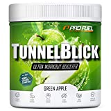 Pre-Workout-Booster Trainingsbooster Tunnelblick mit Citrullin, Taurin, Koffein & Guarana - MADE IN...