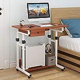 VBARV Mobiler Laptop-Computertisch, Verstellbarer Stehpult, MDF-Stahlrahmen, höhenverstellbar von...