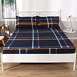 RESUXI matratzenschoner,Einteiliger, wasserdichter Fleece-Bettbezug, urinabweisend, staubdicht und...