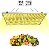 Pflanzenlampe Vollspektrums LED Relassy 300W Lichtleistung mit 338 LEDs, LED Grow Light, 65W...