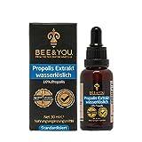 Bee&You Propolis Extrakt Tinktur Wasserlöslich 10% (30 ml) (ohne Alkohol, Standardisiert auf 10%,...