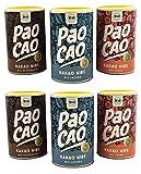 Paocao Kakao Splitter - Nibs mit Schokolade Yacon Lucuma 50% sparen im 6er Pack, 6 x 180g Dosen der...