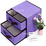 Ykjdyn Cotton And Non-Woven Storage Box Two Layers And Two Pumping Storage Box New Storage Box...