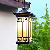 wasserdichte Vintage Pendelleuchte Fitting Retro Outdoor Indoor Aluminium Metall Aufhängung Licht...