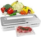 Vakuumiergerät, Automatisch-Vakuumierer für Lebensmittel, Folienschweißgerät mit BPA-Beutelrolle...