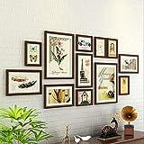 Panduo Fotorahmen Foto/Bilderrahmen Holz Wohnzimmer Schlafzimmer Foto Wand Sofa Hintergrund Wand...