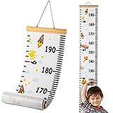 Hifot Messlatte Kinder, meßlatte kinder Wachstumsmesser Messleiste für mädchen Jungs Kinderzimmer...
