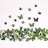 NO:1 12 Stck Mode 3D Schmetterling Magnetisch Wandsticker Wandaufkleber DIY Wandverzierung Wanddeko...