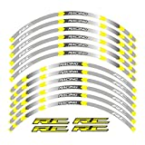 Aufkleber Motorräder Reflektierende Aufkleber for RC 125 200 390 Motorräder Radaufkleber...