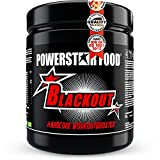 POWERSTAR FOOD Blackout Booster | 600g | Pre Workout Trainingsbooster | Deutsche Herstellung | Blue...