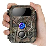Victure Mini Wildkamera 16MP 1080P Fotofalle mit Bewegungsmelder Nachtsichtgert IP66 wasserdichtem...