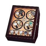 Automatikuhren Uhrenbeweger 8 Uhren+5 Stauräume Watch Winder Box Uhren Aufbewahrungskoffer Mit...