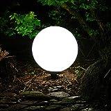 Dapo Kugelleuchte Marlon 30cm IP44 Garten-Außen-Dekorations-Leuchte-Lampe...