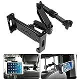 POMILE Tablet Halterung Auto Kopfstütze, Universal Ausziehbare KFZ Kopfstützen Halterung...