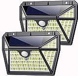 Solarlampen für Außen mit Bewegungsmelder, AOPAWA【210 LED Superhelle-2000LM】Solarleuchten für...
