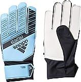 adidas Kinder PRED TRN J Soccer Gloves, Bright Cyan/Black, 6