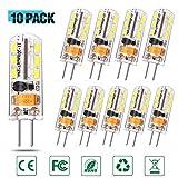 Lacmisc® G4 LED Lampen 2W 150LM warmweiß Umweltfreundliche Lampe Ersatz für 20W Halogenlampen...