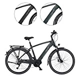 FISCHER Herren - Trekking E-Bike VIATOR 4.0i, Elektrofahrrad, grün matt, 28 Zoll, RH 50 cm,...