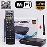 N/A Sat-Receiver iBRAVEBOX V8 HD DVB-S/S2 Full HD WiFi Satelliten-Finder