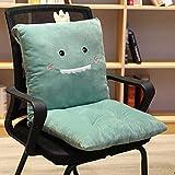 MIMORE Abnehmbares Cartoon-Tier-/Obst-Polyester-PP-Baumwolle gefüllte Sitzlehnenstühle Polster-Set...
