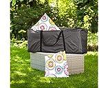Premium Schutzhülle/Kissentasche für Polsterauflagen 200x75x60cm