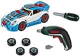 Theo Klein 8630 Bosch Car Tuning-Set I Zerlegbares Auto mit Tuning Zubehör I Mit...