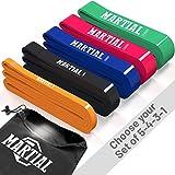 Martial Resistance Bänder für optimales Training! Reißfeste & haltbare Trainingsbänder in 5...