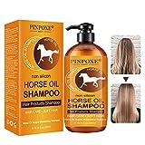 Haarshampoo, Haarpflege Shampoo, Horse Oil Shampoo, Haarwachstums Shampoo, Anti-Haarverlust...