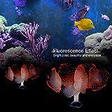 Redxiao Silikonkoralle, Aquarium Simulation Silikon künstliche Koralle Aquarium Dekoration Ornament...