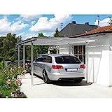 Beckmann Aluminium Carport 311 x 496 x 218 cm Aluminium Natur