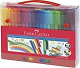 Faber-Castell 155560 Filzstift Connector, im Koffer, 60-teilig, 1 Stck