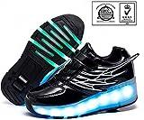 AG LED-Rad-Roller Skate Schuhe automatisch versenkbare Technischer Skateschuh High Top Inline Skates...
