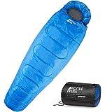 Active Era Professional 300 Mumienschlafsack - Premium Schlafsack für Outdoor Camping, 3-4...