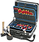 Knipex 002105HLS Montagekoffer 00 21 05 HLS Elektro-Installation, 24 Stück
