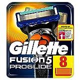 Gillette Fusion 5 ProGlide Rasierklingen mit Trimmer für Präzision und Gleitbeschichtung, 8...