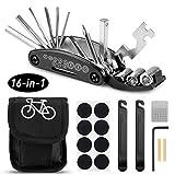mopalwin 16 in 1 Fahrrad-Multitool, Multifunktionswerkzeug Reparatur Fahrradwerkzeug Tool Werkzeuge...