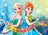 TV-24 Einladungskarten 12er Set + 12 Umschläge Kindergeburtstag Frozen Die Eiskönigin A 2