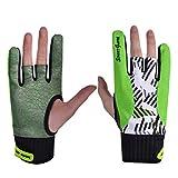 Exceart Bowlinghandschuhe Semi-Finger-Sporthandschuhe 1 Paar rutschfeste Elastische Atmungsaktive...