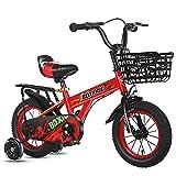 LLF Kinderfahrräder, Kinder Fahrrad Jungen Mädchen Freestyle Fahrrad 12 14 16 18 Zoll Mit...